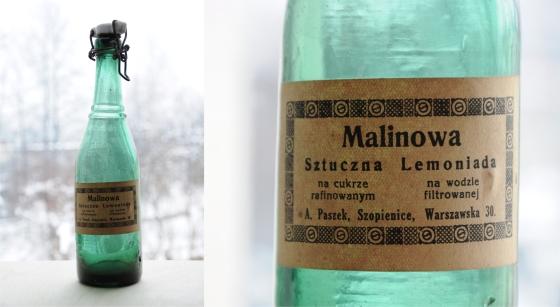 butelka malinowa