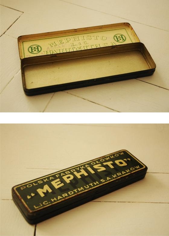 pudełko na ołówki